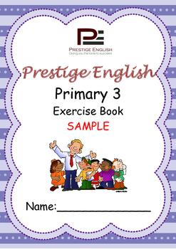 English Exercise Book – Primary 3 SAMPLE ( FREE / FREEBIE )