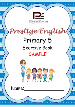 English Exercise Book – Primary 5 SAMPLE ( FREE / FREEBIE )
