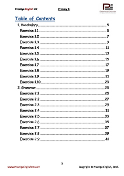 English Exercise Book – Primary 6 (ages 10+)(Vocabulary, Grammar, Comprehension)