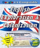 English Exploration and Colonization in the New World Lesson Plan