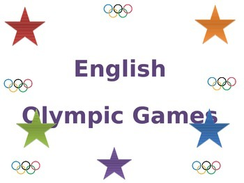 English Festival Interval Olympic Games PowerPoint