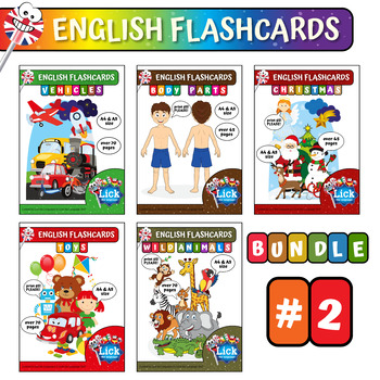 English Flashcards - Bundle #2