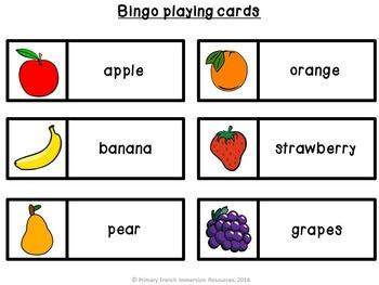 English Food Bingo!