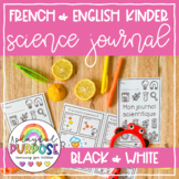 English & French Science Journals for Kindergarten