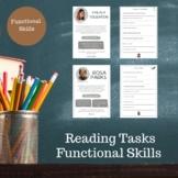 English Functional Skills Skimming/Scanning Tasks. Rosa Parks & Malala Yousafzai