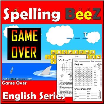 English Game & Printables (Animals Custom-Plan 5)