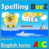 English Game & Printables (Land - Sea Animals Bundle)