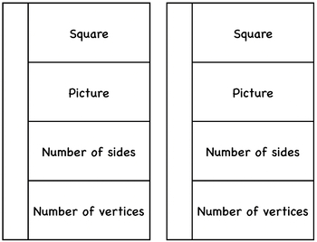 English Geometric Shapes