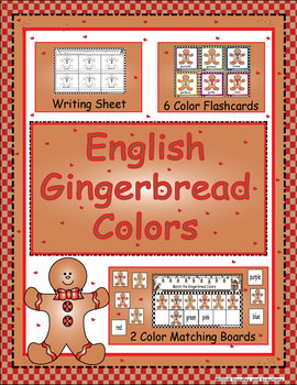 English Gingerbread Colors