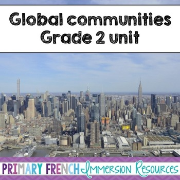 English Grade 2 Global Communities - word wall words and w