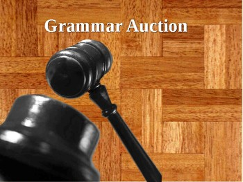 English Grammar - Auction - conditionals