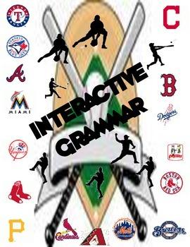 Interactive Grammar with MLB Theme