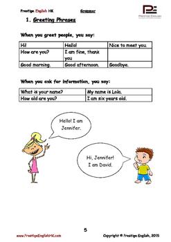 English Grammar Book - Level 1 Book 1