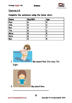 English Grammar Book - Level 1 - Book 2
