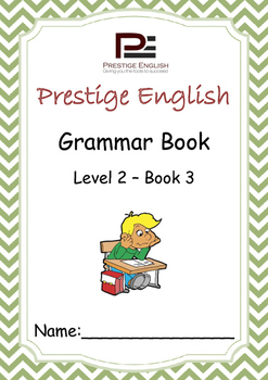 English Grammar Book - Level 2 - Book 3