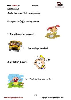 English Grammar Book - Level 3 - Book 1