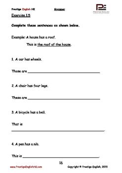 English Grammar Book - Level 3 - Book 2