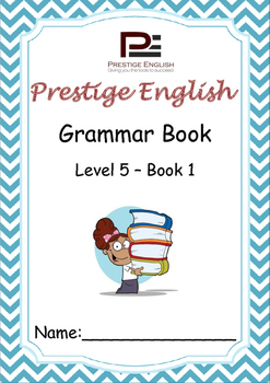 English Grammar Book - Level 5 - Book 1