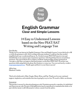 English Grammar: Clear and Simple Lessons
