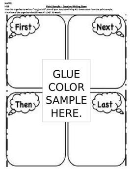English/Grammar/Creative Writing: Paint Sample Stories
