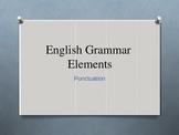 English Grammar Elements Punctuation