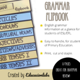 English Grammar Flipbook