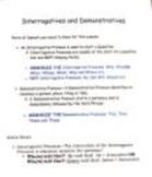 English Grammar Help-- Interrogative and Demonstrative Pronouns