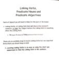 English Grammar Help-- Linking Verbs, Predicate Nouns and