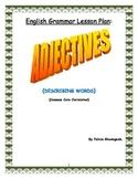 English Grammar Lesson Plan-Adjectives (Describing Words)