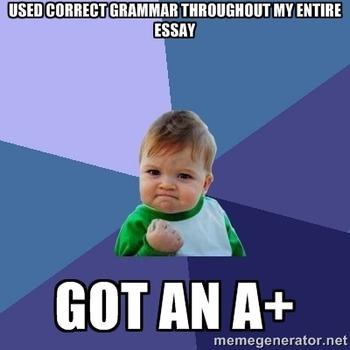 English Grammar Memes: Printables  and Classroom Decor