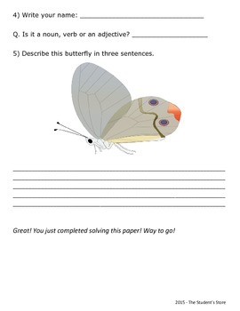 English Grammar Revision Worksheet