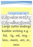 English Grammar Suffix Endings