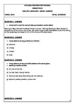 English Grammar Task