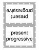 English Grammar Tense Signs ESL