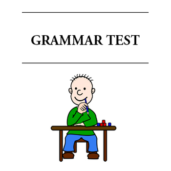 English Grammar Test - The Basics - Answer Key Included