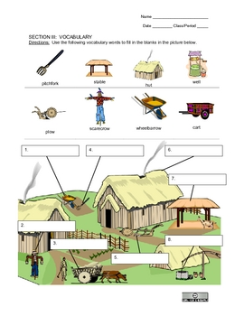 English Grammar Vocab Spelling Homework Packet 3