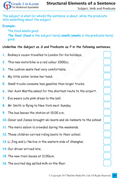 English Grammar Workbook from BeeOne Books