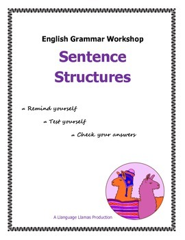 Sentence Structures - simple, compound, complex - English Grammar Workshop