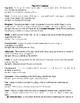 English Grammar and Figurative Language Cheat Sheet