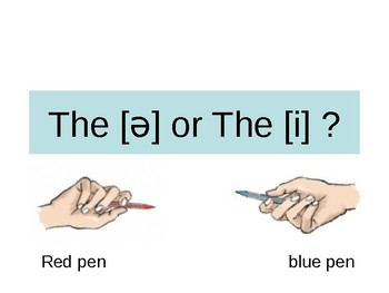 English Grammar - the or thi