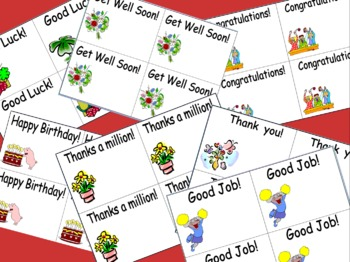 English Greeting Cards - Happy Birthday, Good Job, Thank You & 4 More