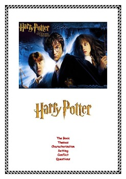 English: Harry Potter analysis and activities.