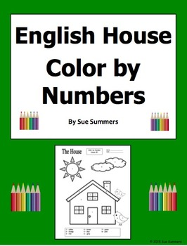 English House Color by Numbers