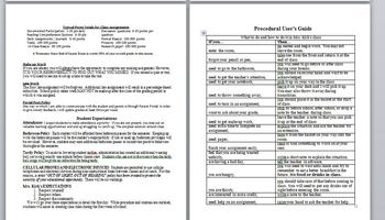 English I CCSS Course Syllabus - WORD format for customization!