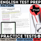 English I & II STAAR Reading Comprehension Passages | Fiction | Print & Google