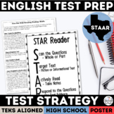 English I & II STAAR Reading Test Strategy