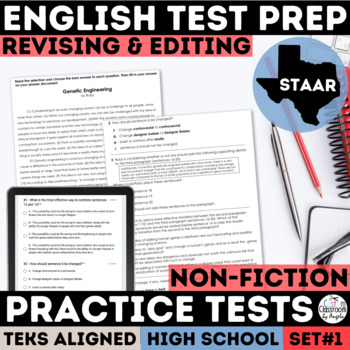 English I & II STAAR Revising and Editing Passages