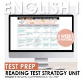 English I STAAR/EOC Reading Test Prep Strategy or Summer School Four Week Unit