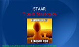 English I STAAR Test Taking Tips & Strategies Presentation