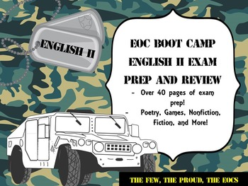 EOC Practice English II Exam Bundle